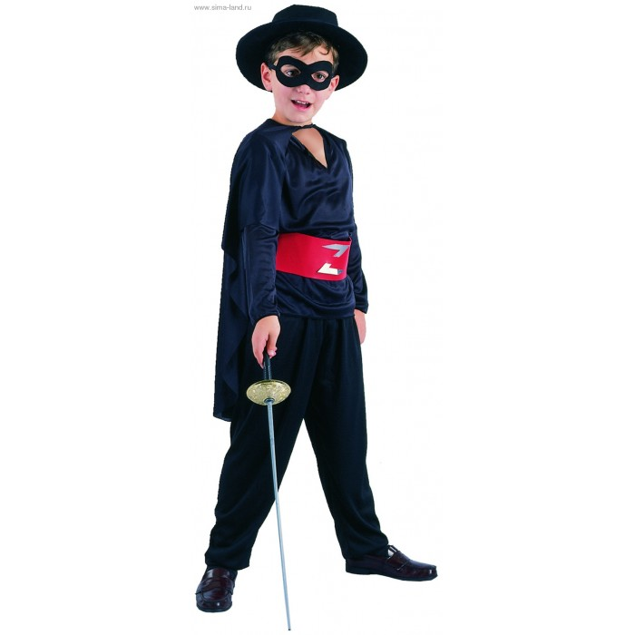 Маскарадный костюм своими руками на мальчика
