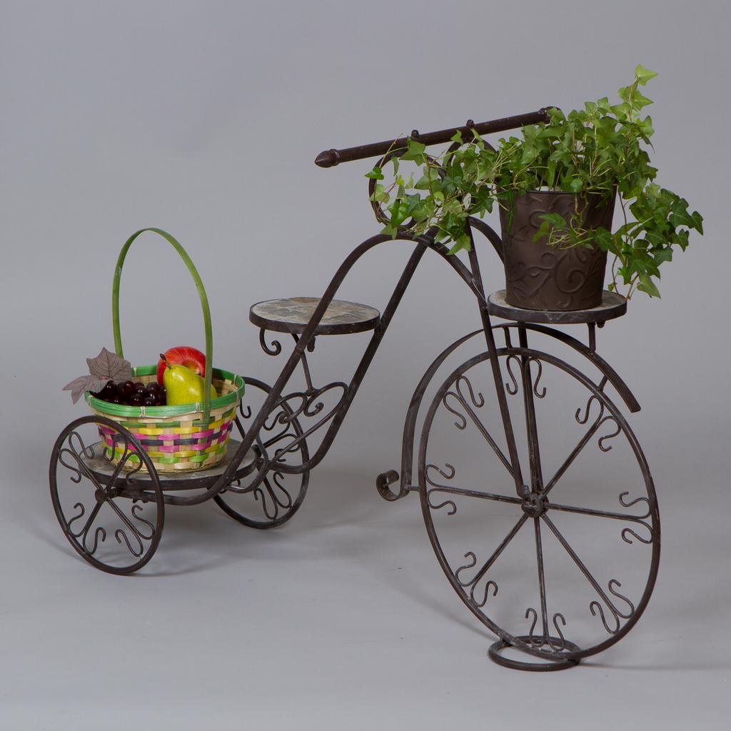 Как сделать велосипед своими руками для цветов