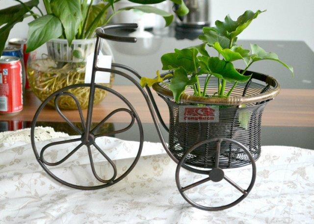 Подставка для цветов своими руками велосипед