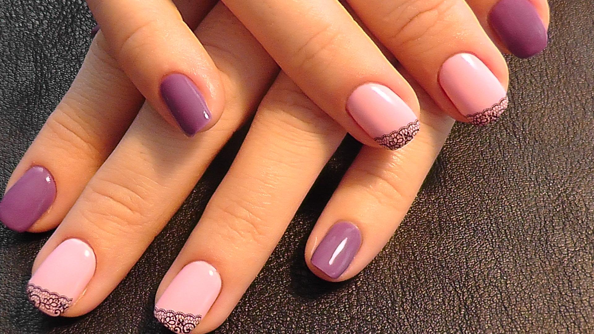 Фото красивого дизайна ногтей покрытие