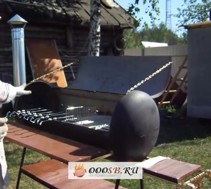Фото мангал из газового баллона своими руками видео