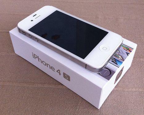 айфон 4с фото белый