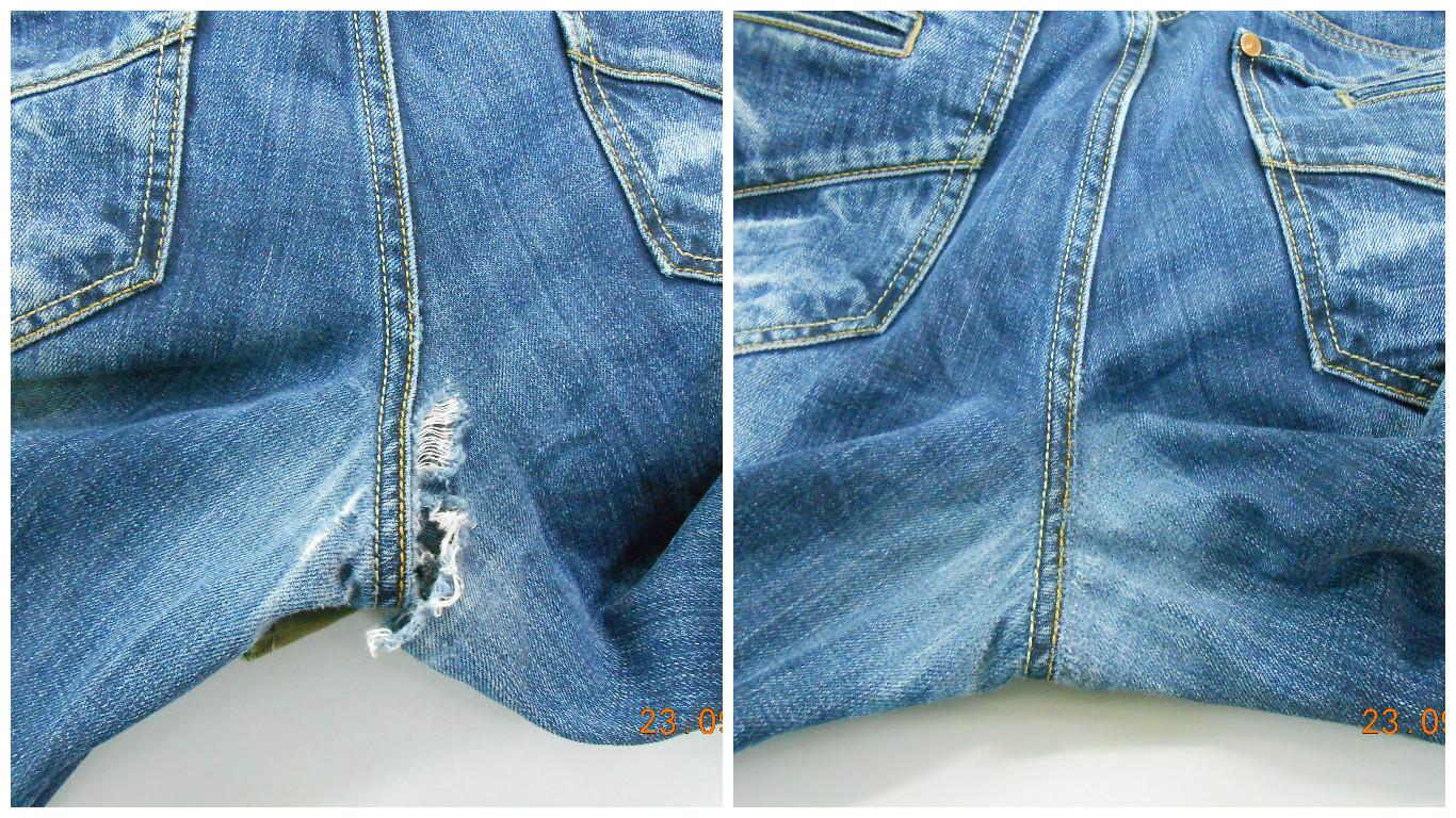 Заузить штанины брюк своими руками