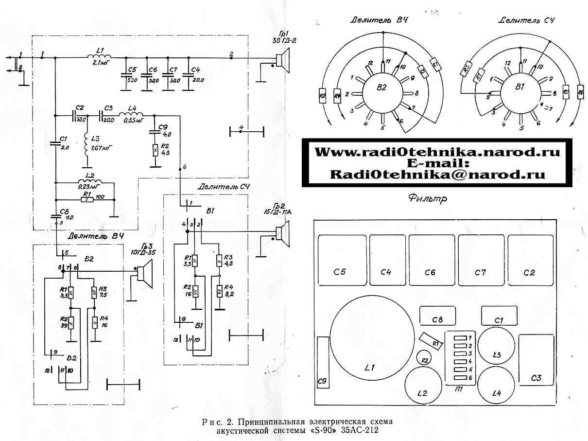 Схема s 90b Принципиальная