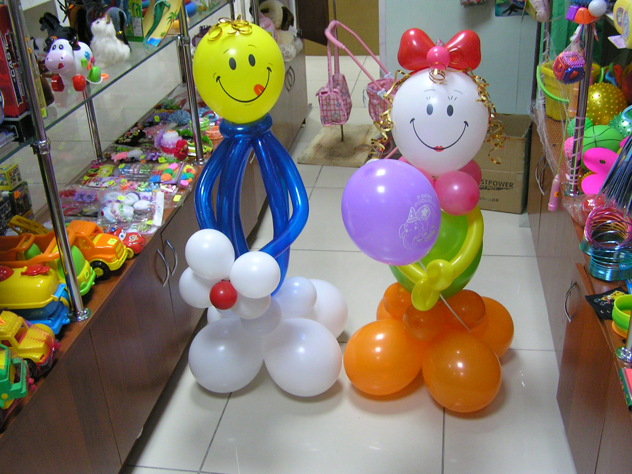 Игрушки из надувных шаров своими руками