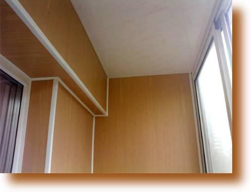 Отделка пластиковыми панелями - санузел, балкон и др. пр..