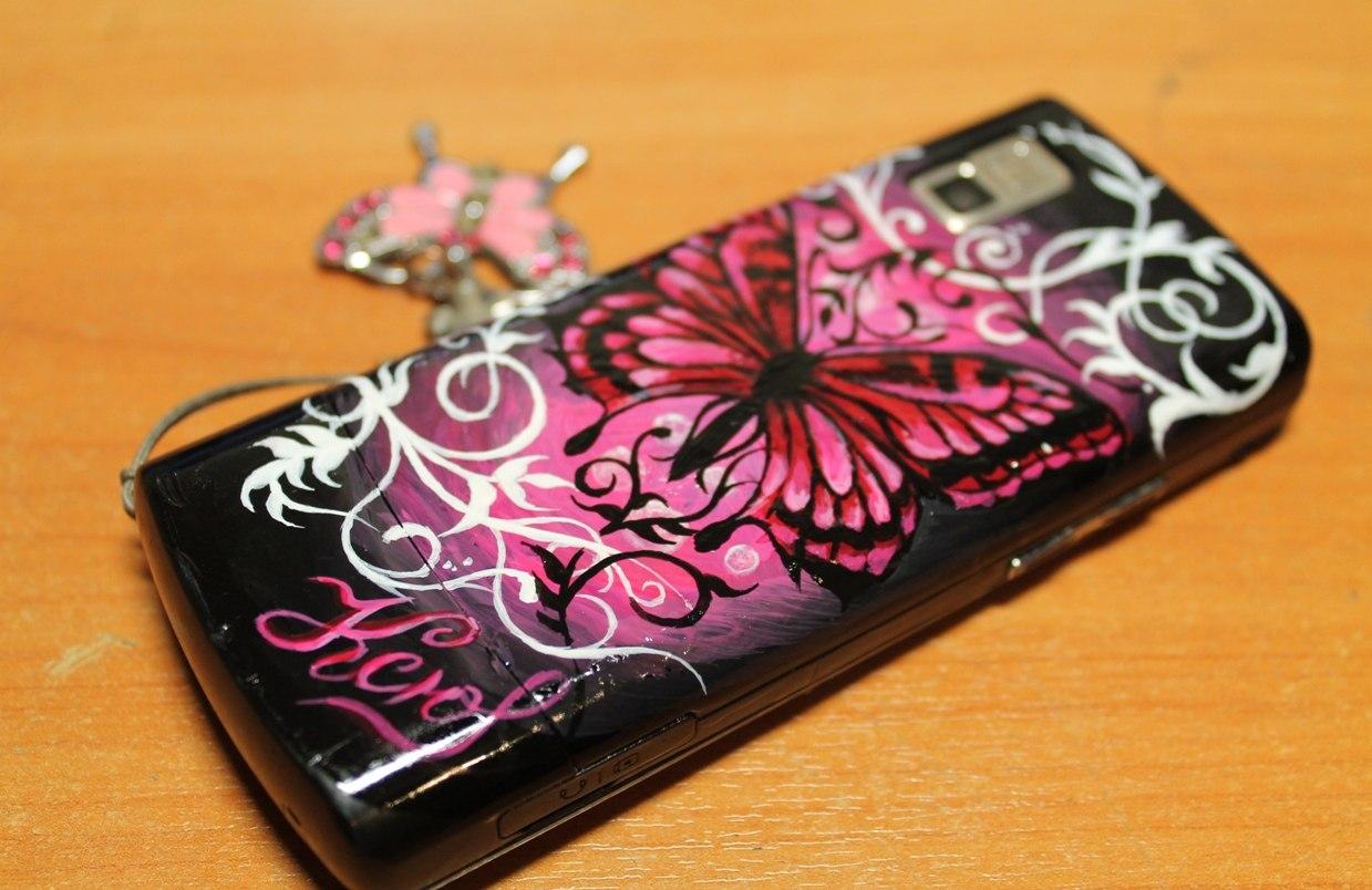 Рисунки на крышках телефона