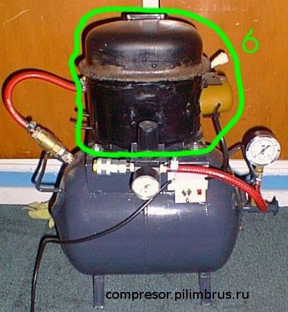 Компрессор из компрессора кондиционера своими руками