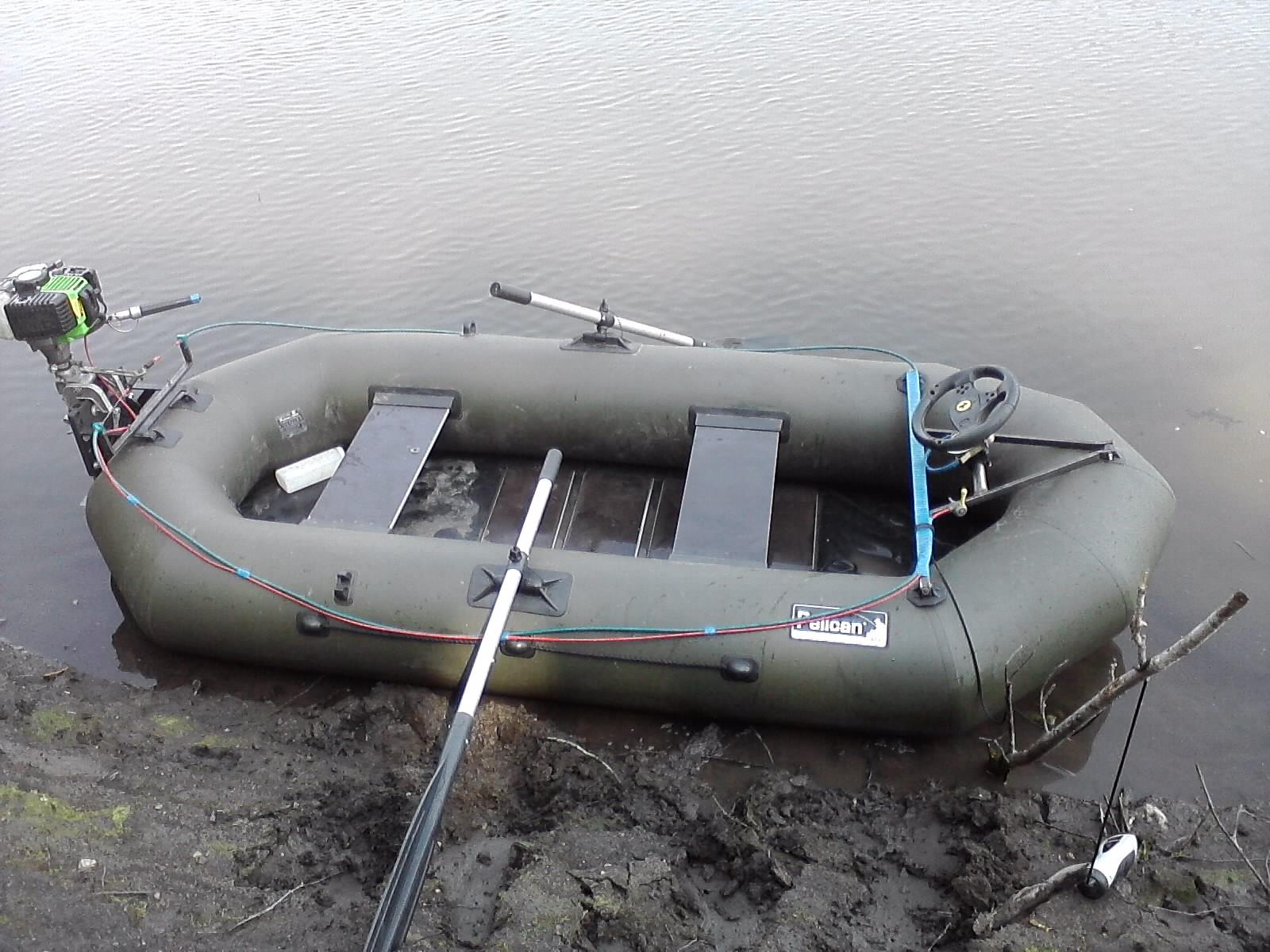Держатели для удочек в лодку пвх своими руками