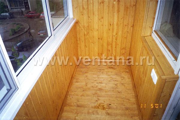 Застекление и обшивка балконов в москве.