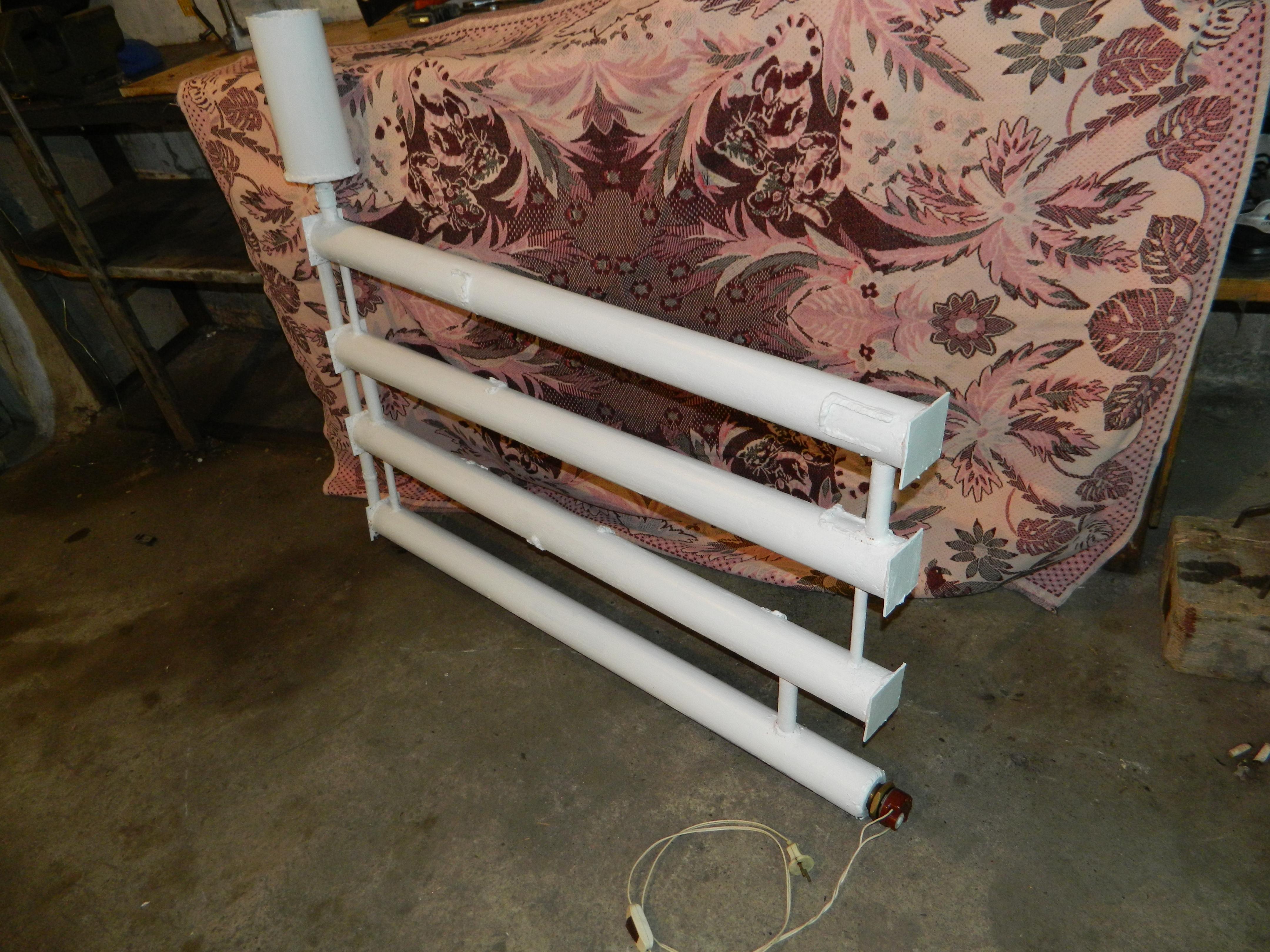 Установка масляного радиатора своими руками