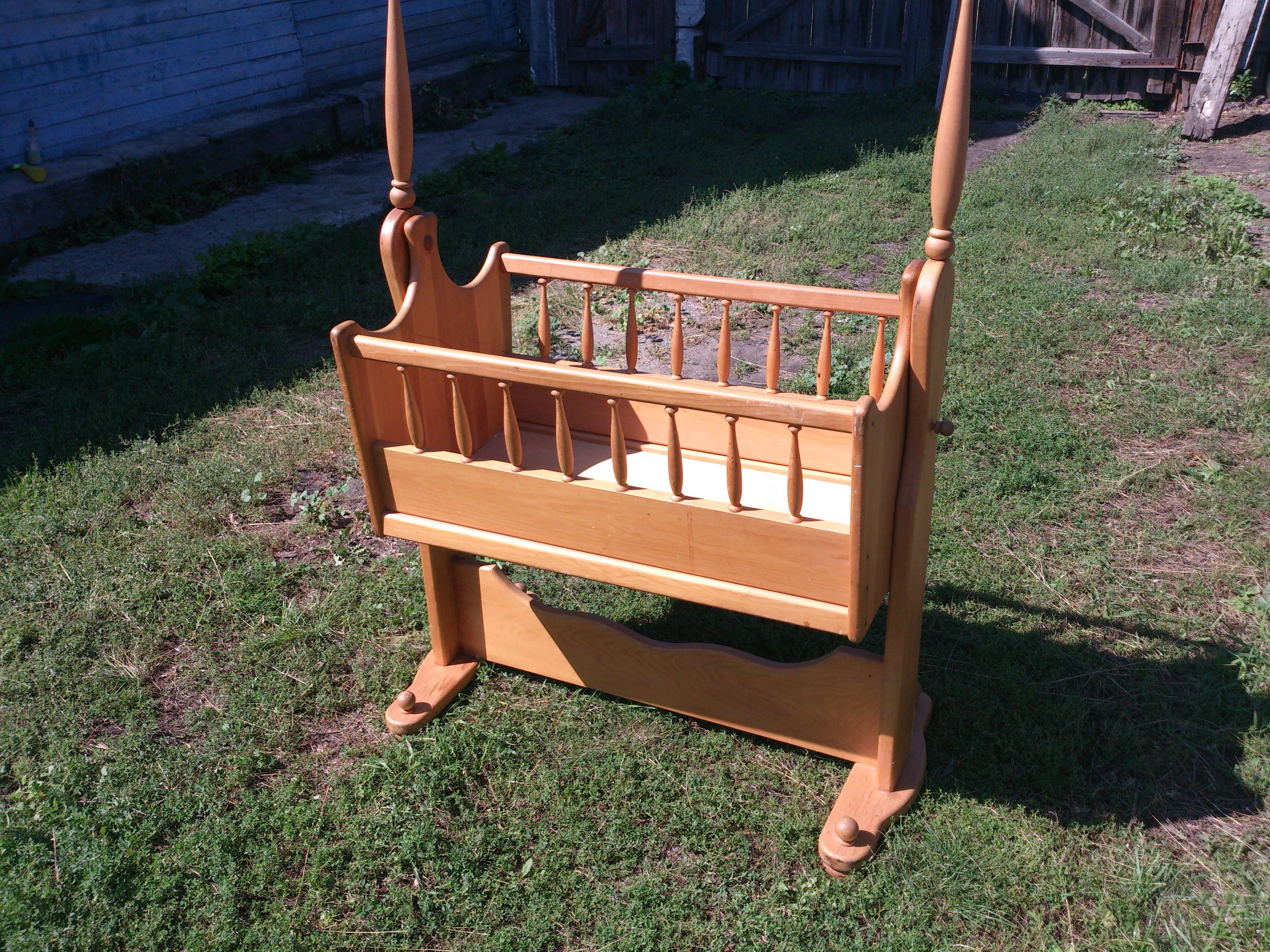 Кроватки качалки для новорожденных своими руками