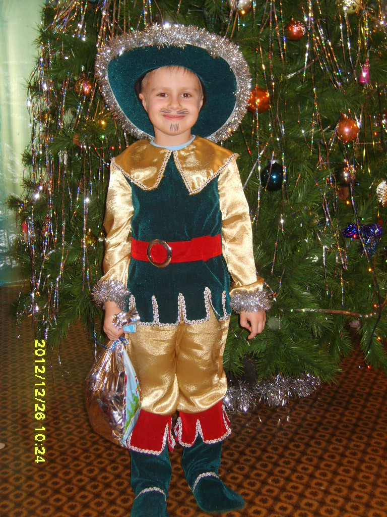 Новогодний костюм на 3 года для мальчика своими руками