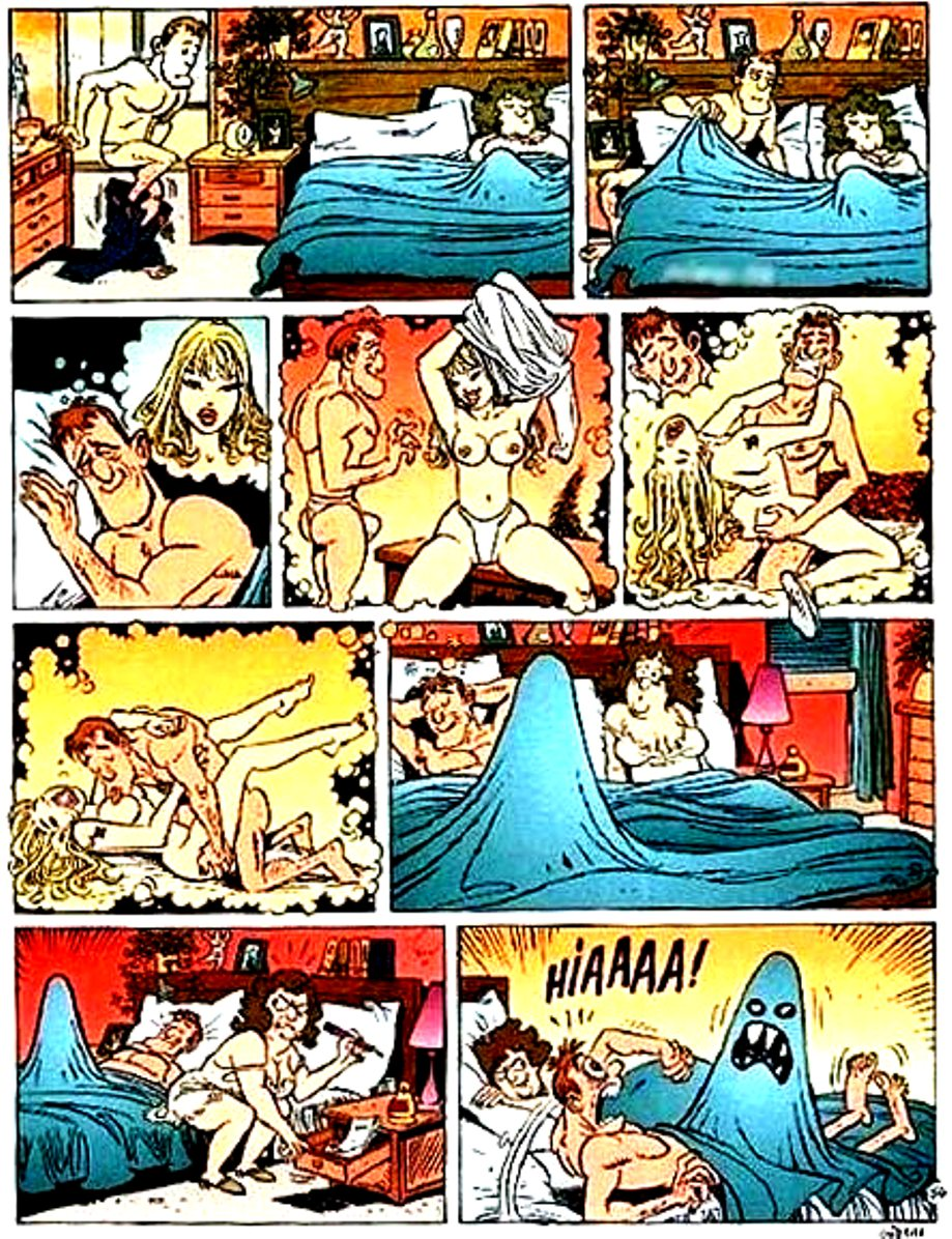 Смешные порно комиксы 5 фотография