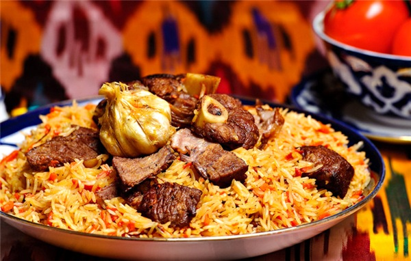 Uzbek cuisine, pilaf