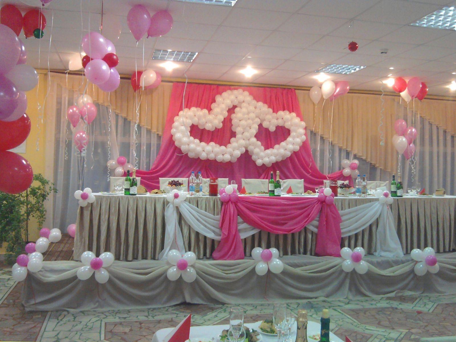 Недорого украсить зал для свадьбы своими руками фото