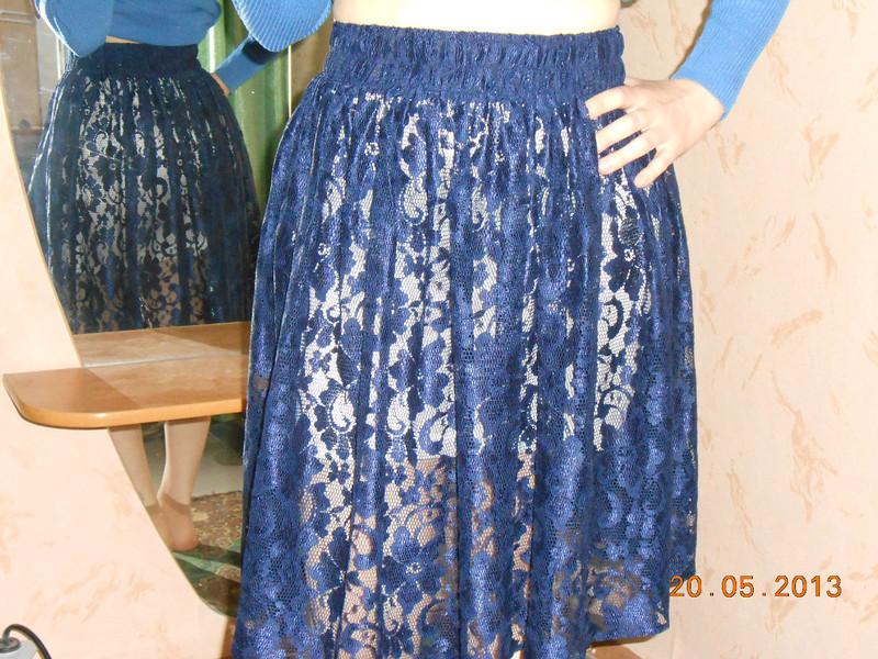 Двойная юбка своими руками