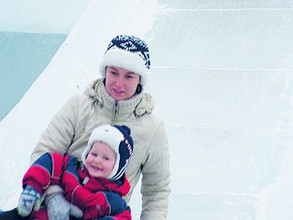 Ледовые городки для жителей Хакасии - от Дениса Сафронова