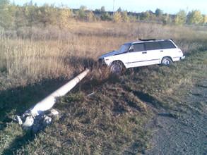 Пострадавший в аварии житель Хакасии заплатит за сбитый столб