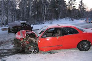 В Хакасии страшная авария унесла жизнь 80-летнего пенсионера