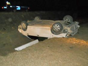 На трассе Хакасии погиб водитель иномарки