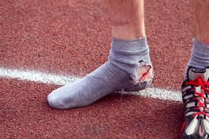 Травмированный легкоатлет из Хакасии пробежал всю дистанцию