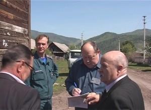 В деревне Богословка сегодня прошли масштабные противопожарные учения