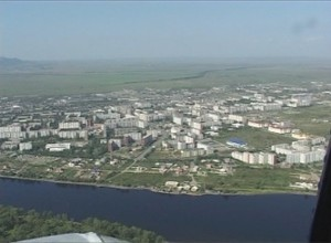 На Саяногорск надвигается буря