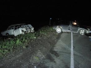 В Саяногорске в автоаварии погиб человек
