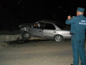 За минувшие сутки на саяногорских дорогах произошло две серьезных аварии