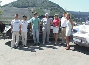 Саяно-Шушенскую ГЭС  посетили участники энергетического автопробега