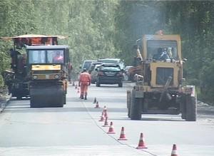 «Хакасавтодор» потребовал 18 миллионов рублей за срыв сроков строительства дороги Саяногорск - Черемушки