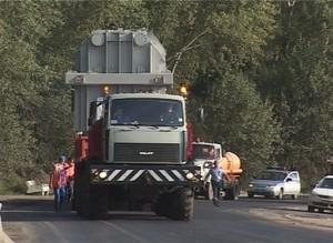 Очередной трансформатор СШГЭС сегодня пересечет Саяногорск