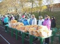 В Саяногорске завершились пробеги выходного дня 2011