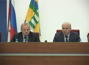 Виктор Зимин пообещал Саяногорску денег на развитие