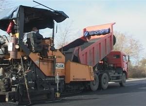 На трассе Саяногорск - Черемушки завершаются работы по реконструкции
