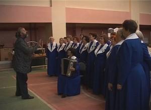 Саяногорскому хору Волошнина - 25 лет