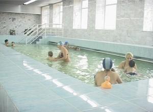 Сегодня после ремонта открылся бассейн в детской поликлинике Саяногорска