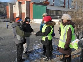 В Саяногорске прошли акции «Безопасные дороги»