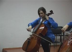 Саяногорская виолончелистка представит наш город в Москве