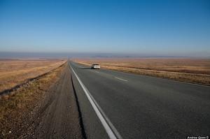 Федеральные власти помогут в ремонте трассы Саяногорск - Абакан