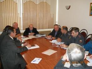 В Саяногорске прошло заседание комиссии по безопасности дорожного движения