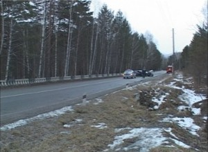 Из-за ДТП на трассе Саяногорск-Черемушки было затруднено движение