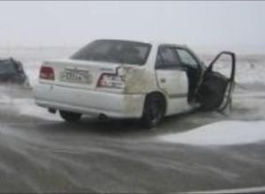 Сильный ветер стал причиной ДТП на абаканской трассе