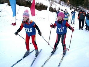 """В Черемушках прошли """"Новогодние лыжные гонки"""""""