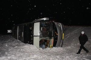 В ДТП с маршрутным автобусом пострадали 2 человека