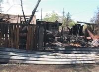 Сегодня ночью в поселке Майна произошел пожар
