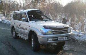 В Черемушках автомобиль перевернулся на спуске с горы