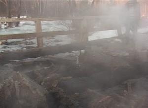 Деревня Богословка оказалась отрезана от внешнего мира