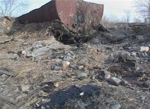 В Саяногорске найдено полцистерны нефтепродуктов отравляющих подземные воды